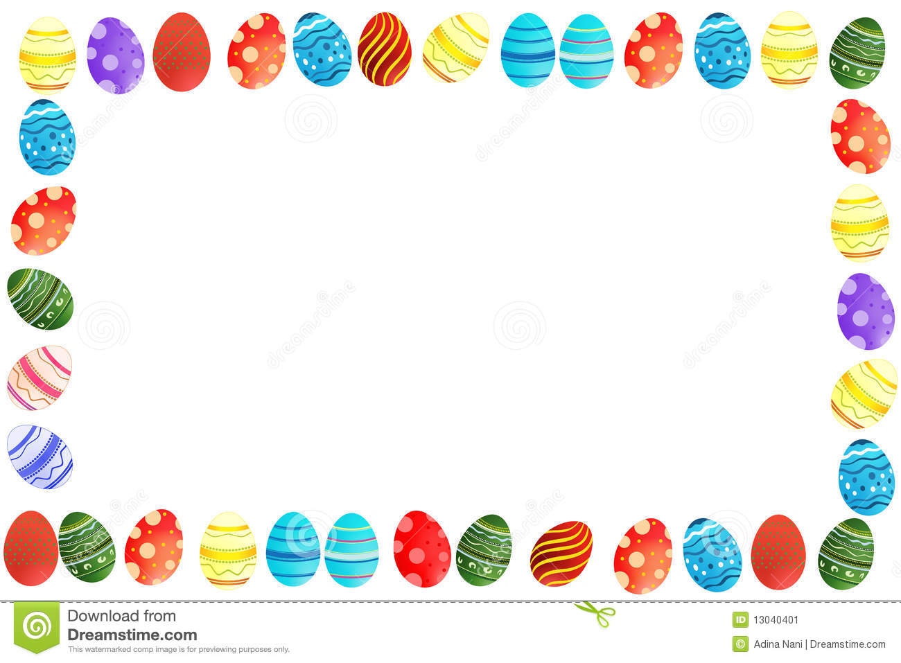 Easter Border Clip Art & Look At Clip Art Images - ClipartLook