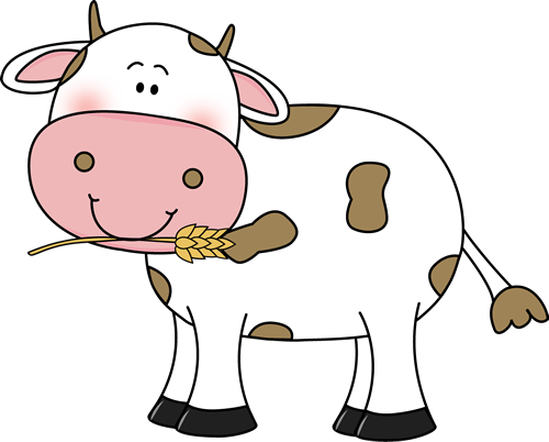 cute cow clipart