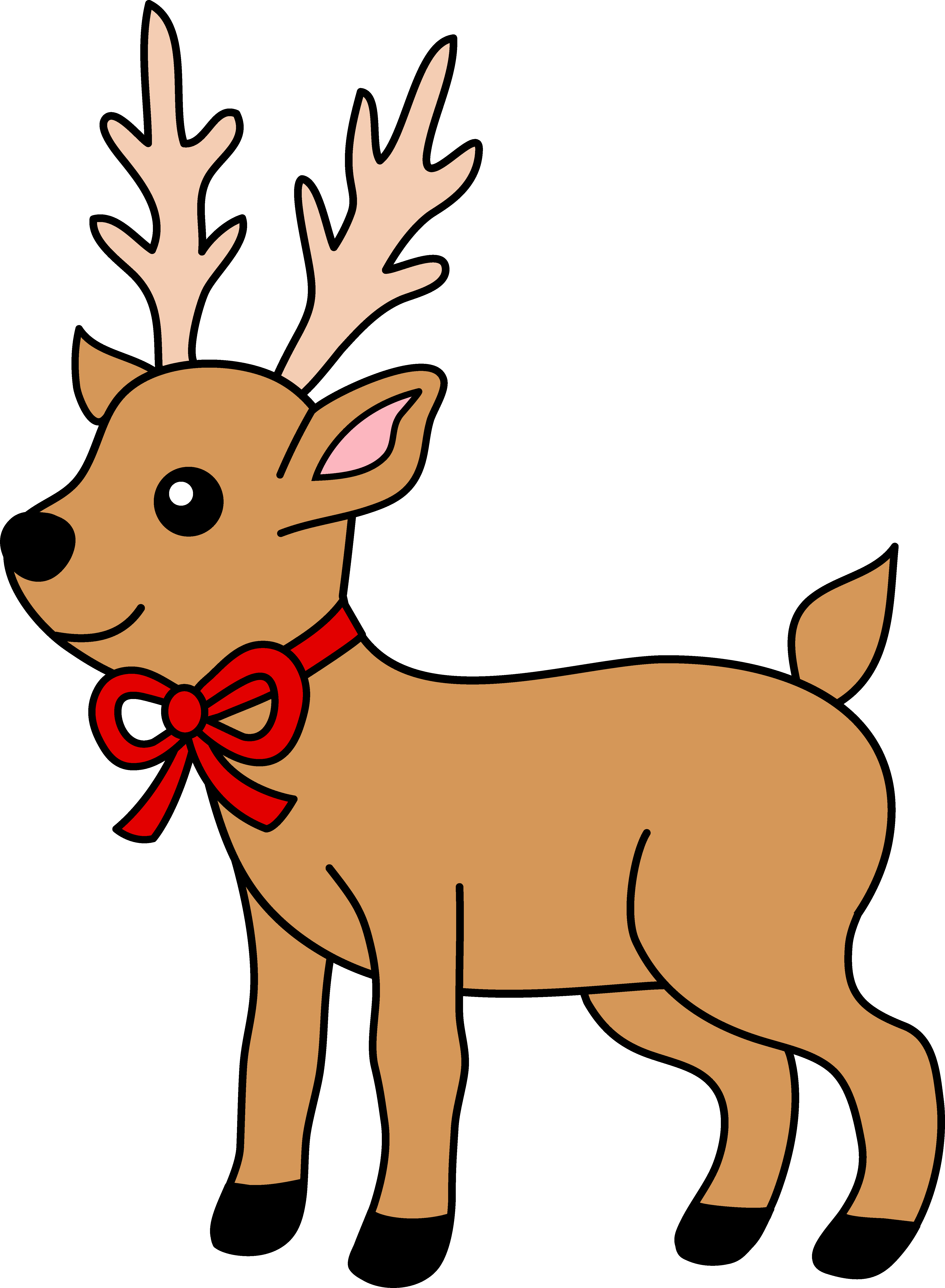 Christmass reindeer. Christmas clipart clipartlook