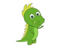 Cute Dinosaur Character Prehistoric Clip-cute dinosaur character prehistoric clipart. Size: 59 Kb-1