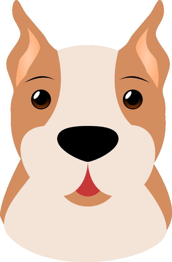 Cute Dog Face Clipart #1-Cute Dog Face Clipart #1-4