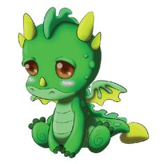 cute dragon clip art | Cute .