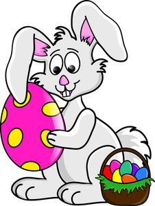 cute easter bunny clipart .