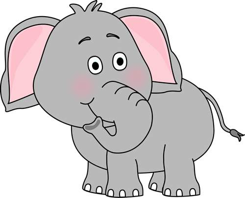 Cute Elephant Clip Art 139212