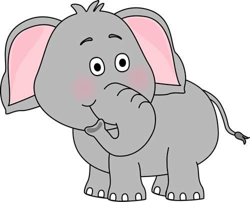 Cute Elephant Clip Art 139212