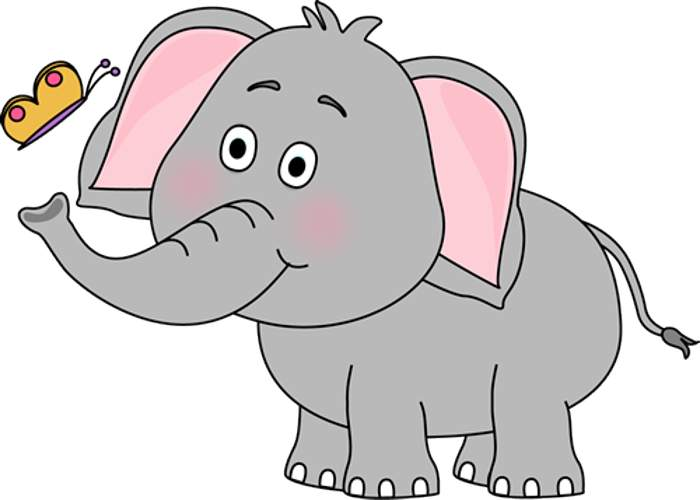 Cute Elephant Clipart Jpg