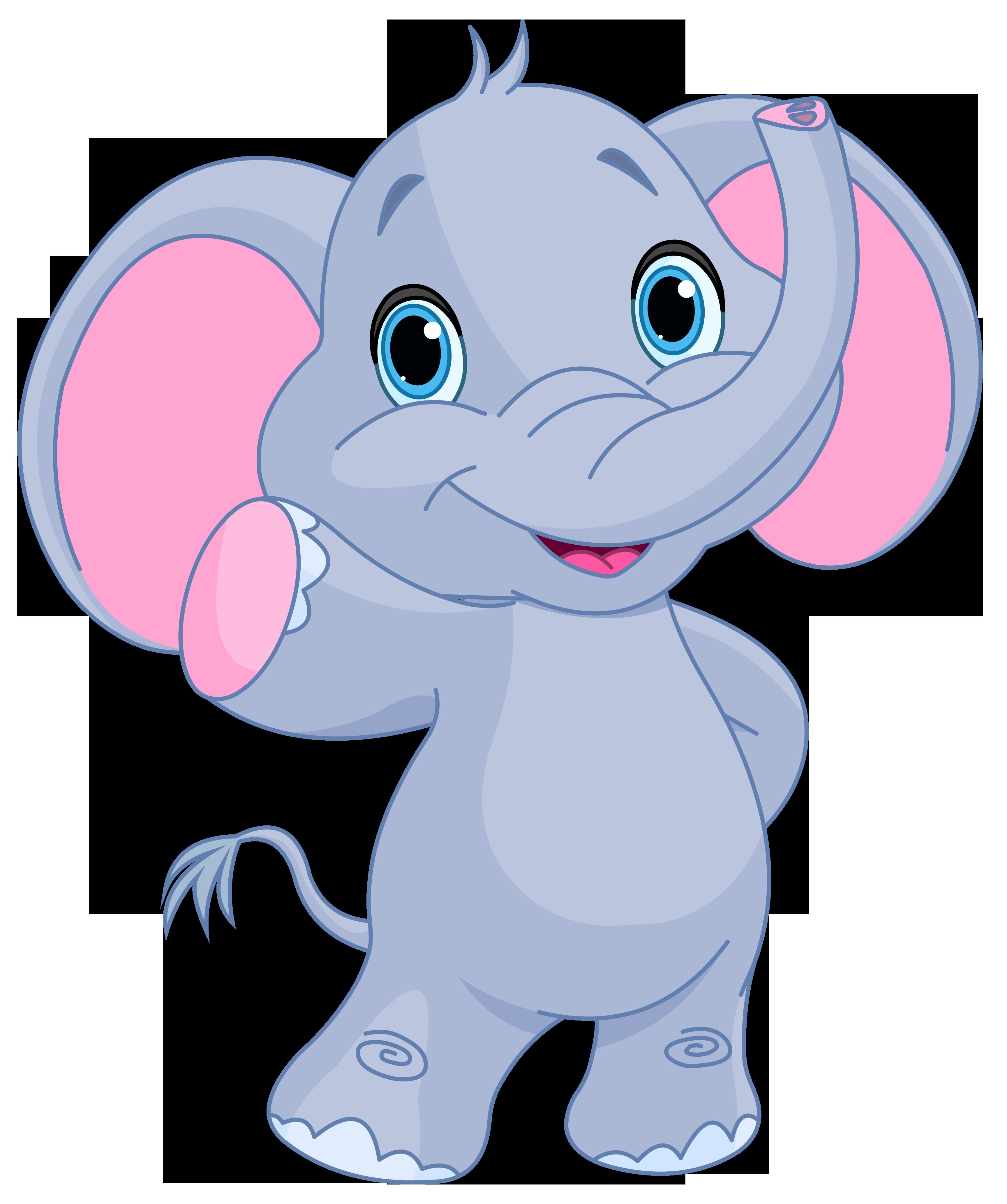 Cute Elephant Clipart - clipartall