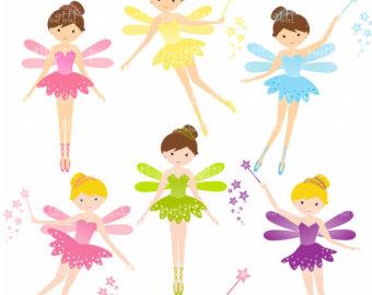 Cute Fairy Clip Art