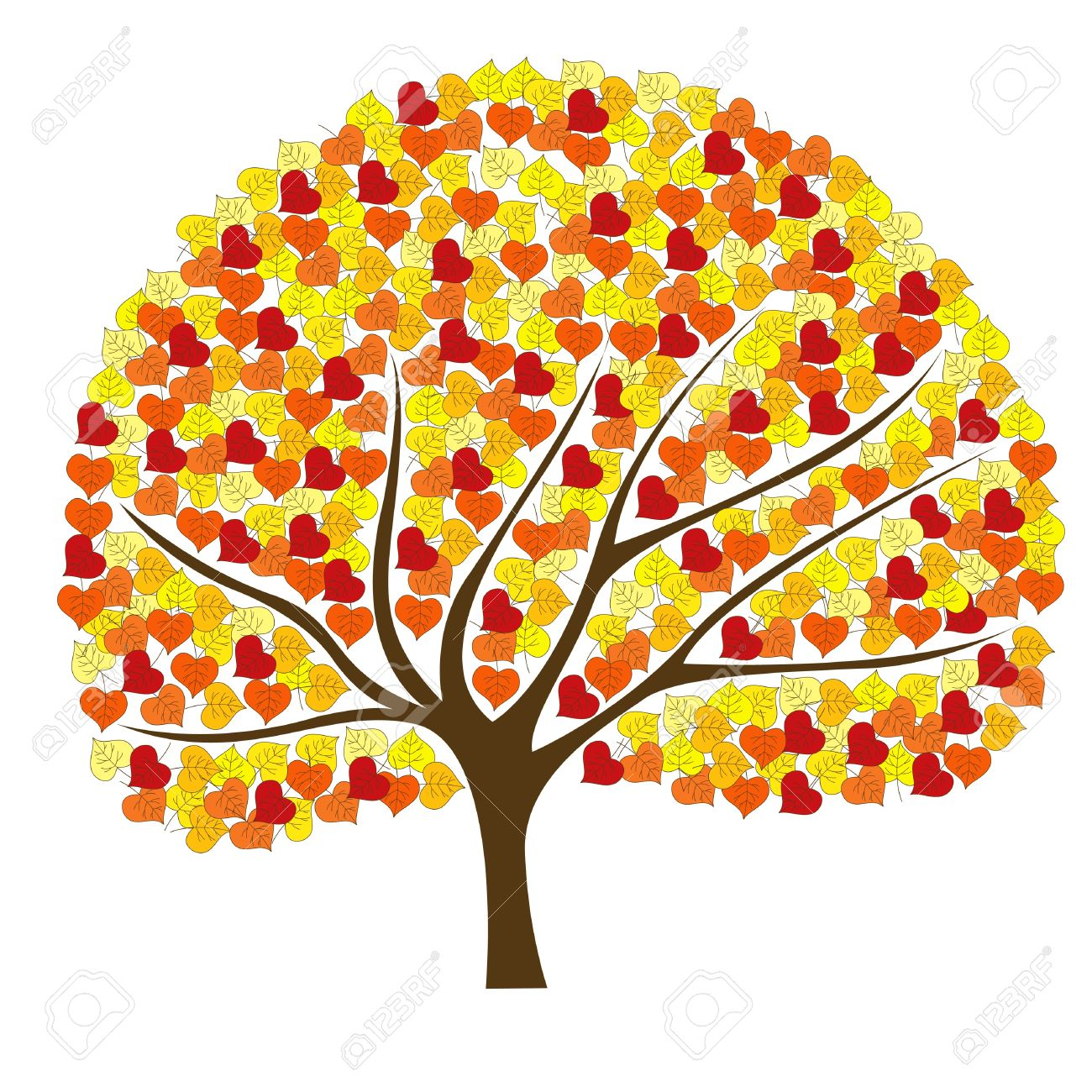 Cute Fall Tree Clipart Cute Fall Tree Clipart