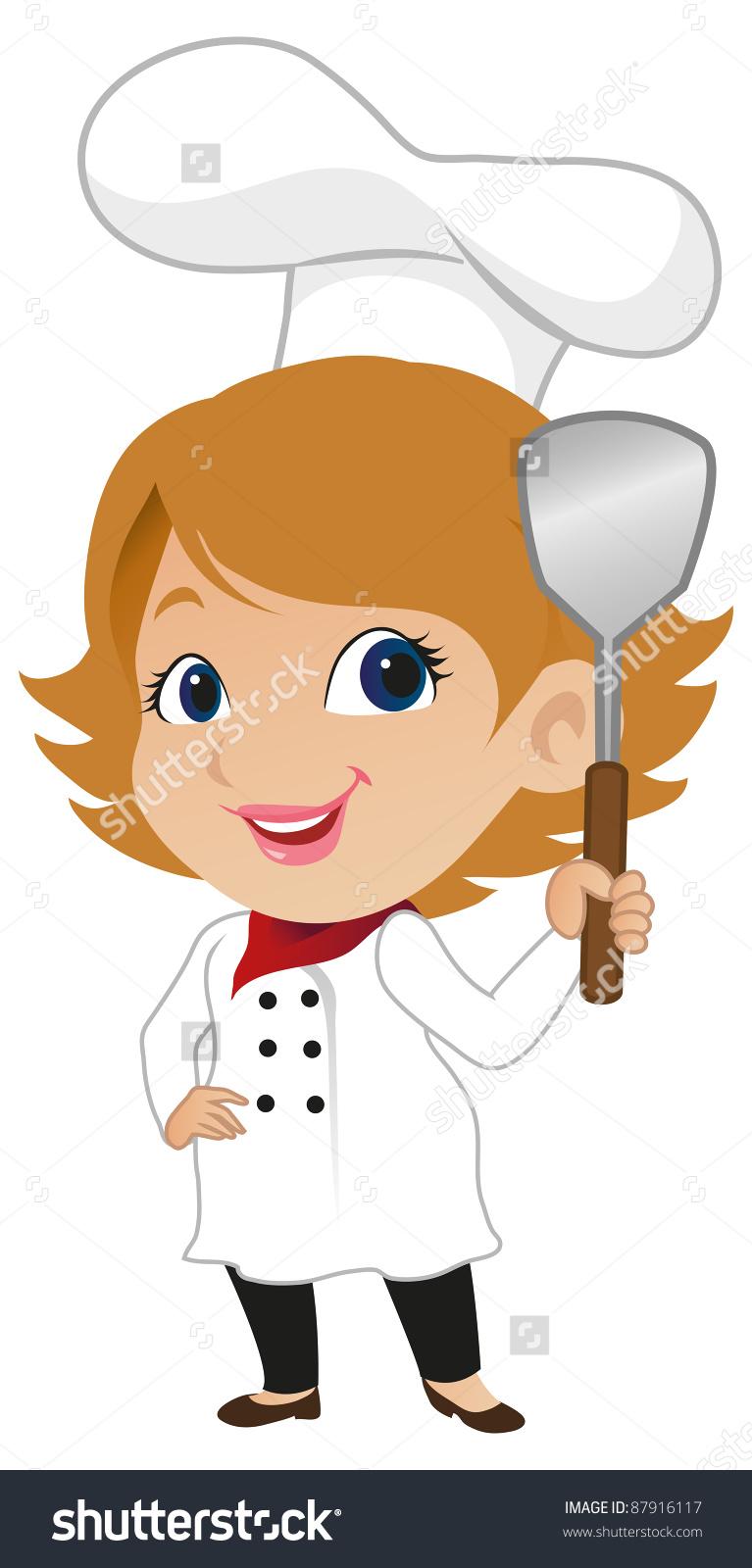 Cute Female Chef Preview.