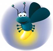 Cute Firefly Clipart Picture .