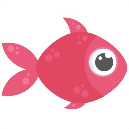 Cute fish clipart 5