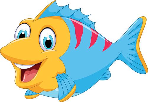 Cute fish clipart clipartall 2