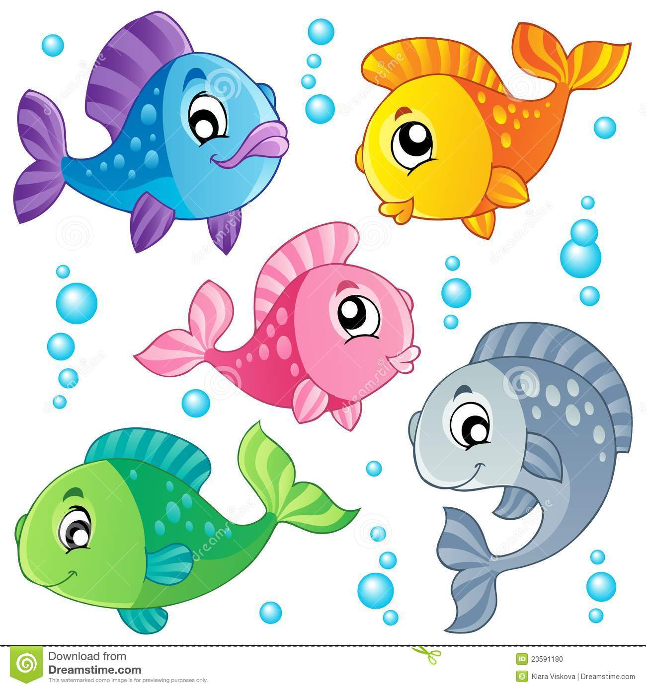 Cute Fish Clipart-cute fish clipart-12