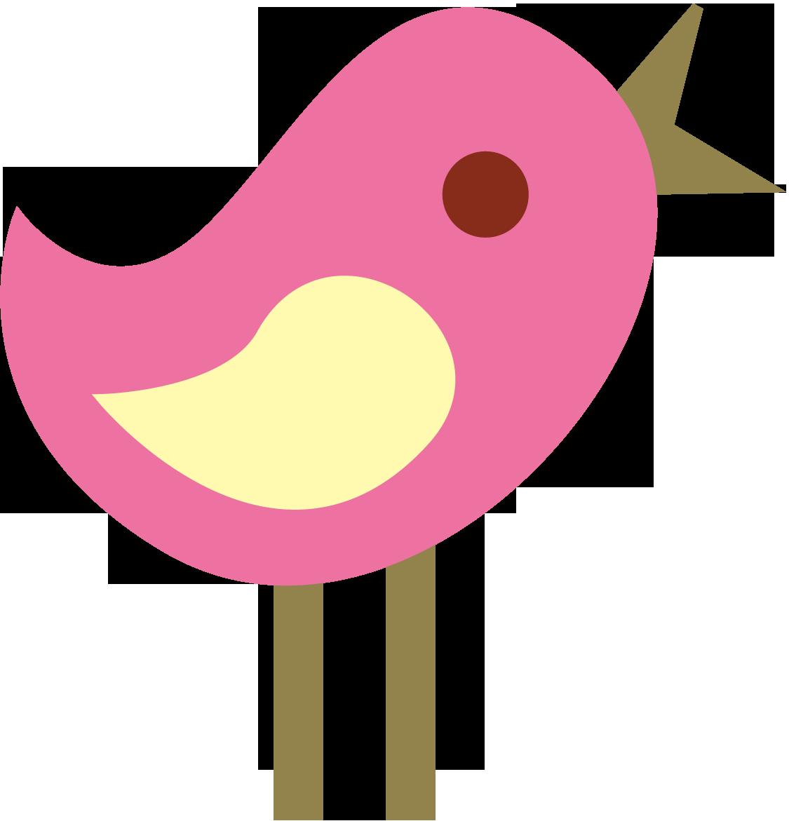 Cute Girly Bird Clipart - Cute Bird Clipart