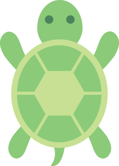 Cute Green Turtle Clip Art ..