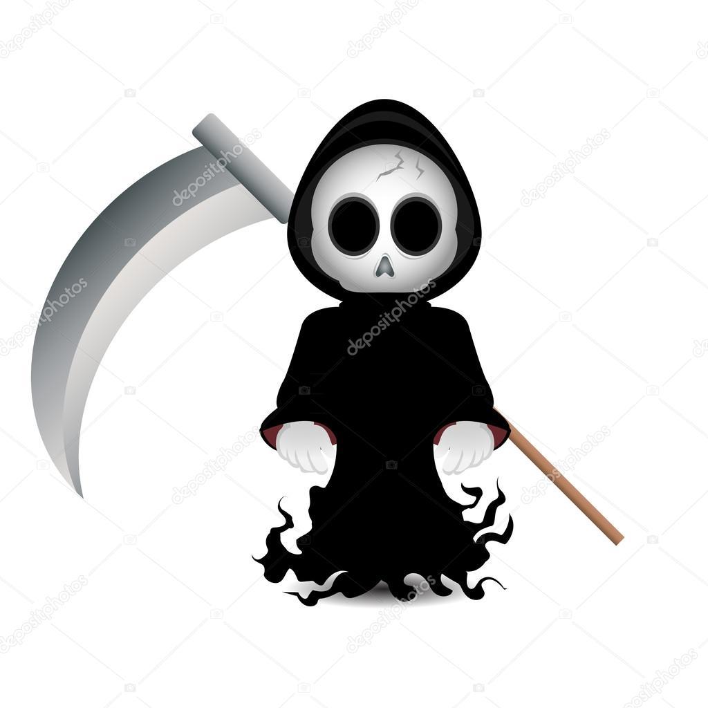 Cute Grim Reaper Clip-art For Halloweenu-Cute grim reaper clip-art for halloweenu2014 Photo by kozzi2-14