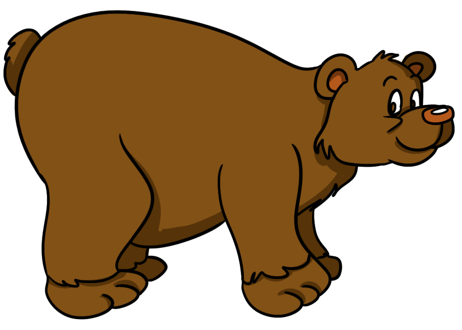 Cute grizzly bear clipart - ClipartFox