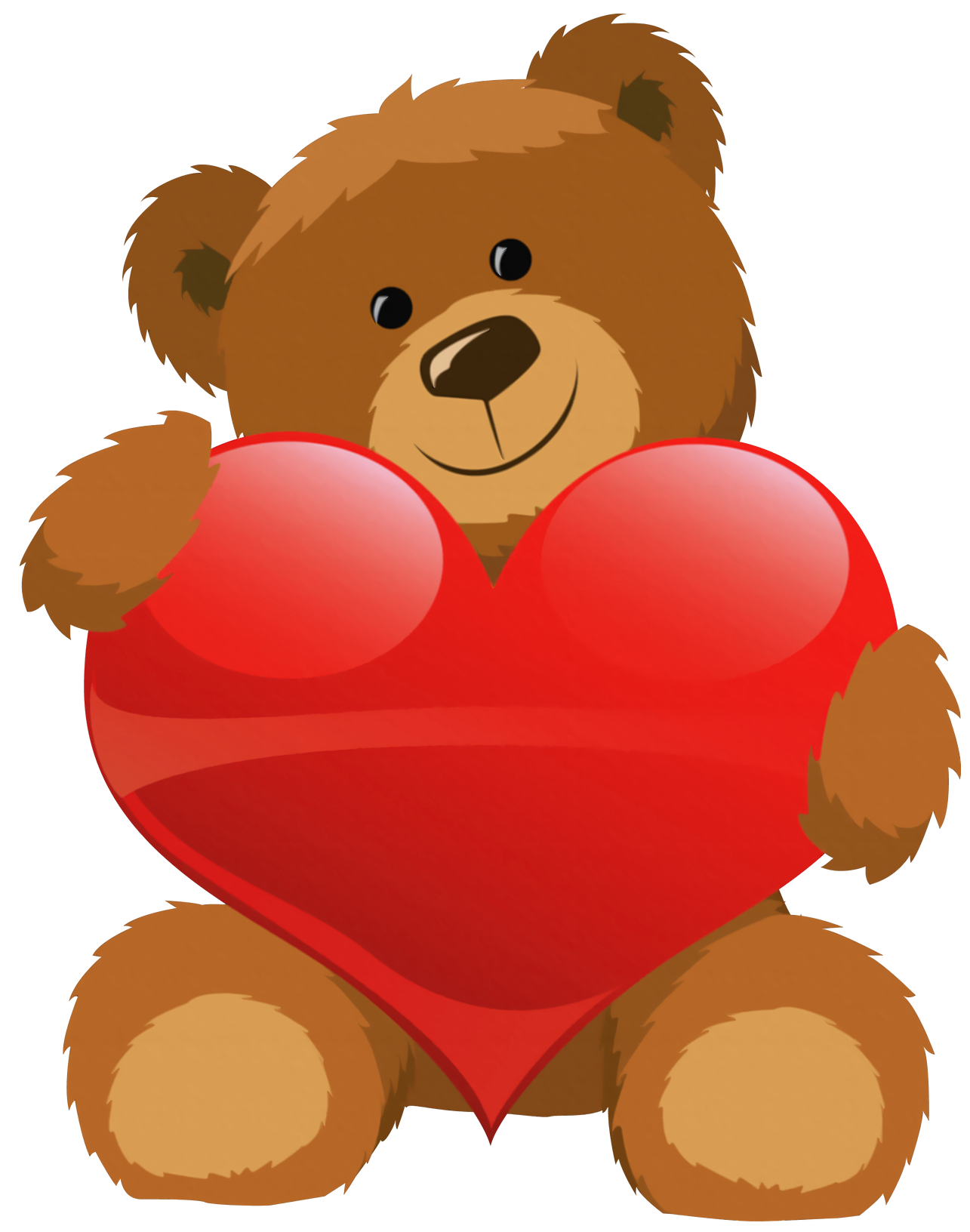 Cute Grizzly Bear Clipart Cute Bear With-Cute Grizzly Bear Clipart Cute Bear With Heart Png Clipart Picture Png-9