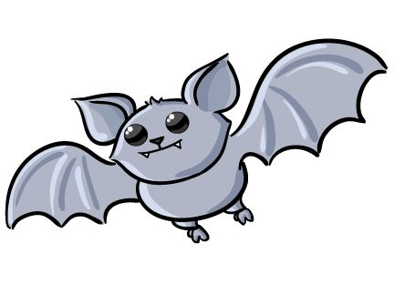 Cute Halloween Clip Art | Free Cute Bat Clip Art