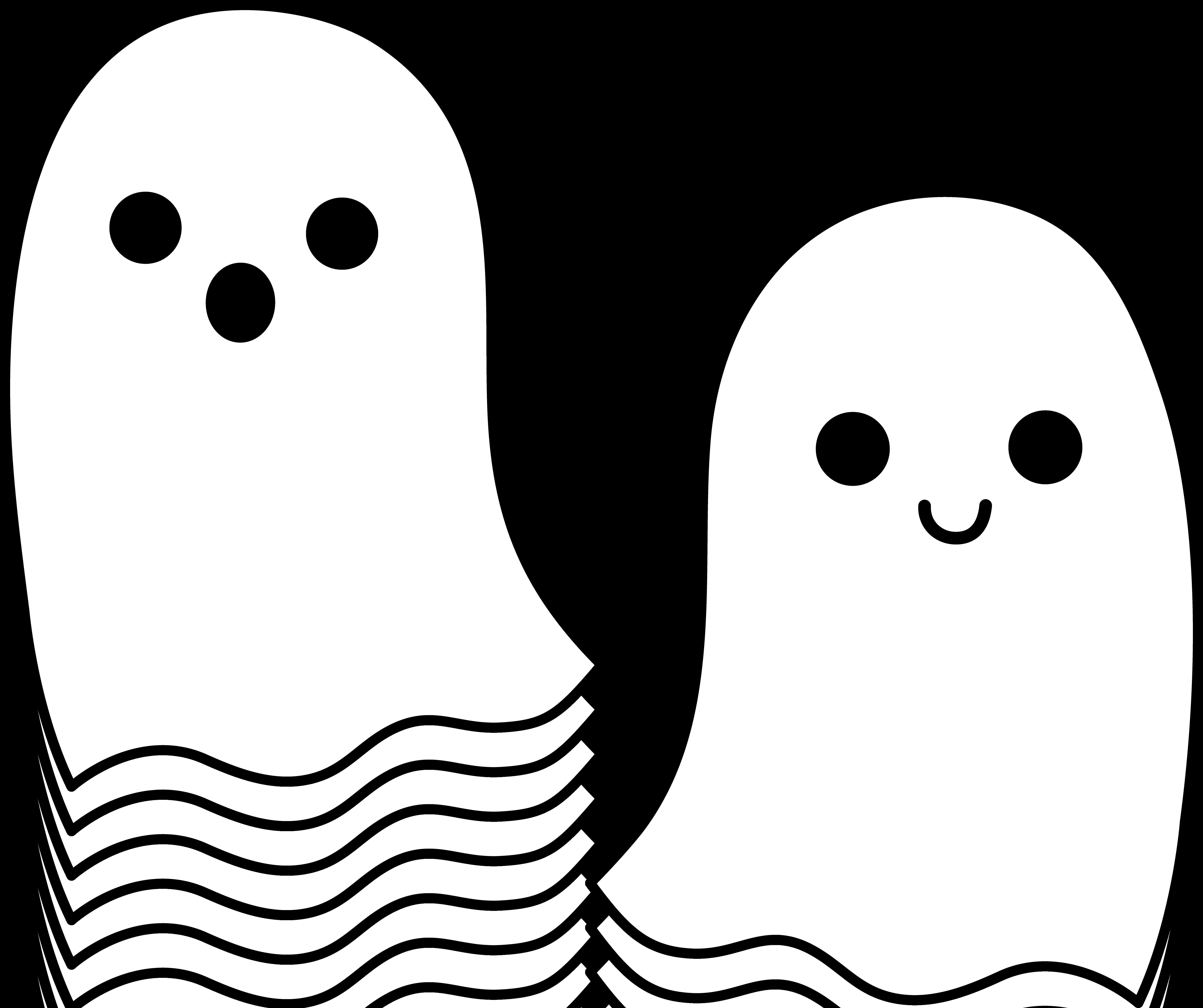 Cute Halloween Ghost Clip Art | Clipart -Cute Halloween Ghost Clip Art | Clipart library - Free Clipart Images-3