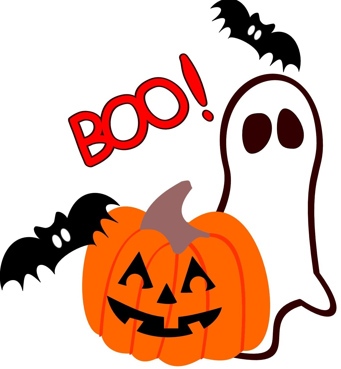 Cute Halloween Ghost Clip Art | Clipart library - Free Clipart Images