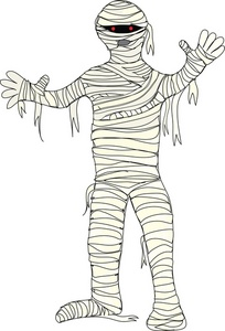 Cute Halloween Mummy Clip Art - Mummy Clip Art
