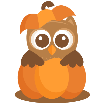 Cute Halloween Pumpkin Clip Art Free u0026middot; Large Owl In Pumpkin2 Png