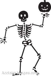Cute Halloween Skeleton Clip Art Halloween Skeleton Clip Art