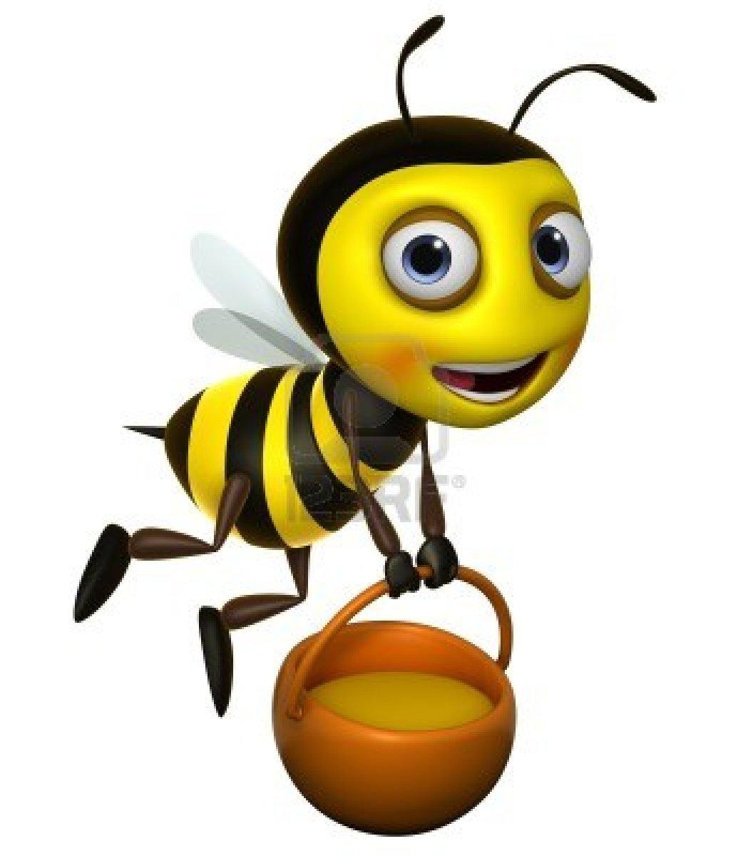 Cute Honey Bee Clipart Clipart .-Cute Honey Bee Clipart Clipart .-14
