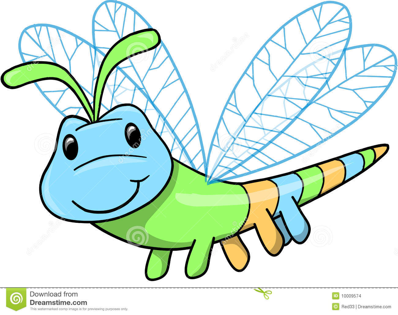 Cute Insect Vector .