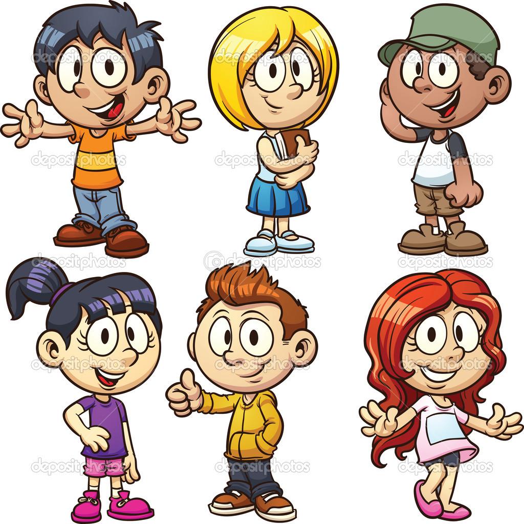 Cute Kid Clipart · «-Cute Kid Clipart · «-7