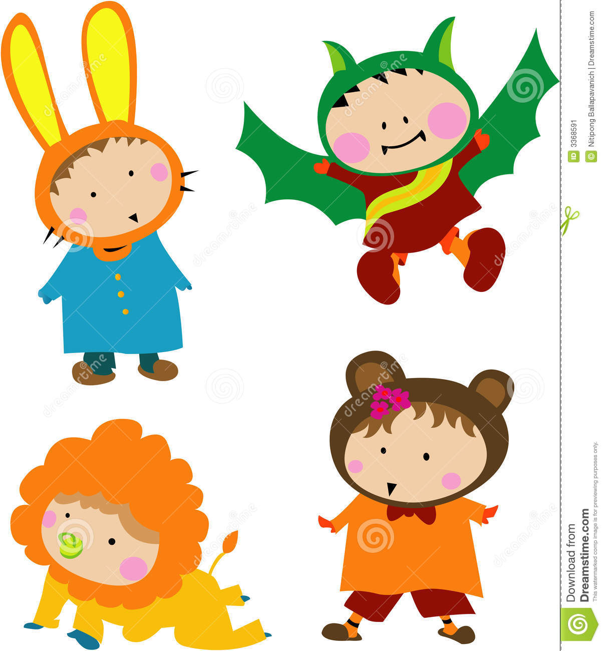 cute kids clipart free