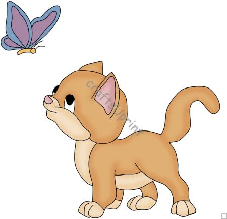 Cute Kitten Clip Art-Cute Kitten Clip Art-4
