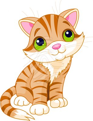 Cute Kitten Clipart #1 - Cute Kitten Clipart
