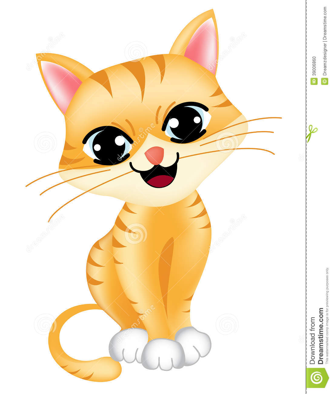Cute Kitten Clipart Cute Cat