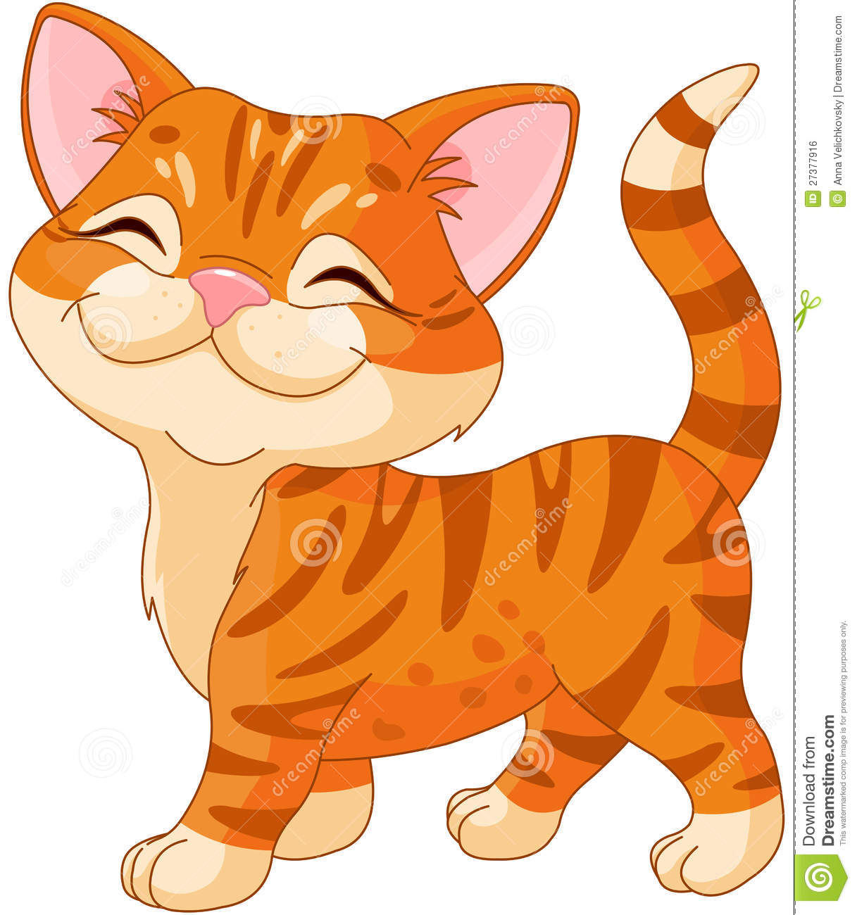 Cute kitten clipart - .