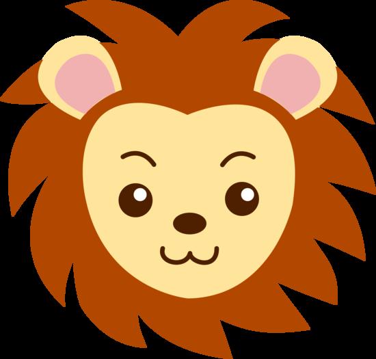 Cute Lion Clip Art. cute lion head clipart