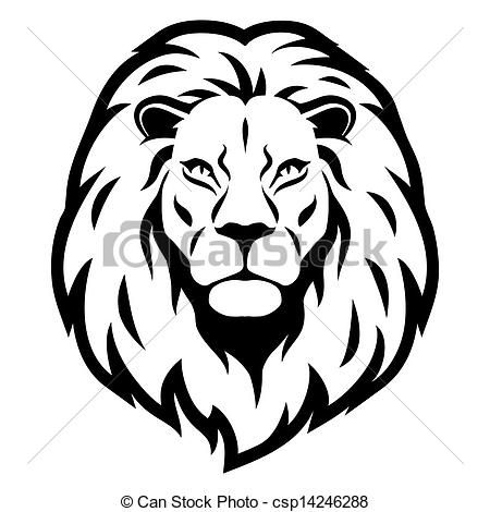 Cute Lion Head Clipart .