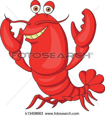 Cute Lobster Cartoon-Cute lobster cartoon-4