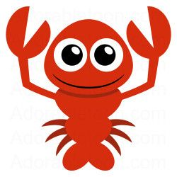 Cute Lobster Clipart From Adorabletoon W-Cute lobster clipart from adorabletoon work-5