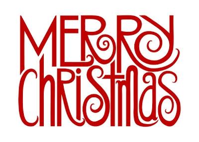 Cute Merry Christmas Clipart