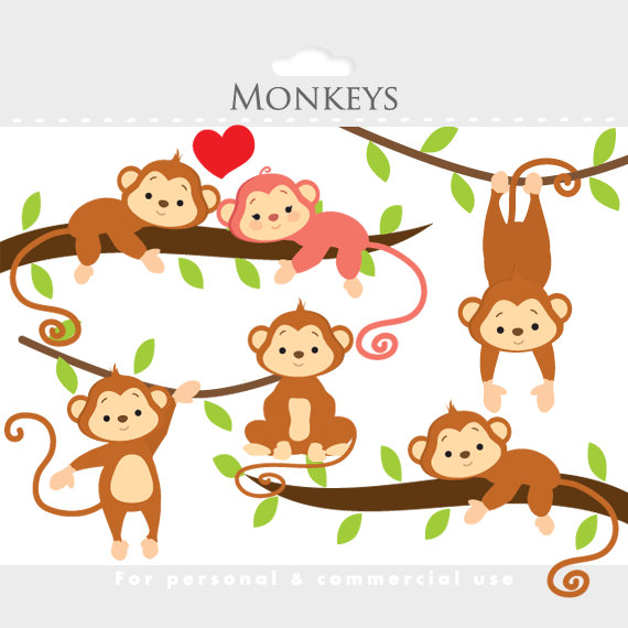 Cute Monkey Clip Art | Clipart library - Free Clipart Images
