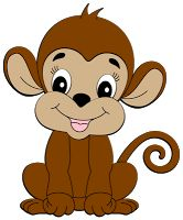 Cute Monkey Clip Art | Cute Monkey-Cute Monkey Clip Art | Cute Monkey-15