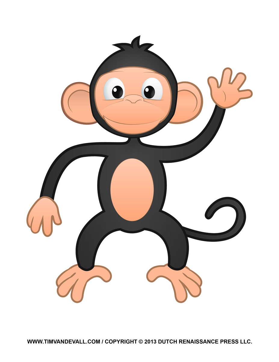 Cute Monkey Clipart-Cute Monkey Clipart-15