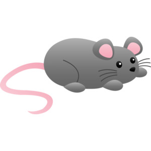 Cute Mouse Clipart - .