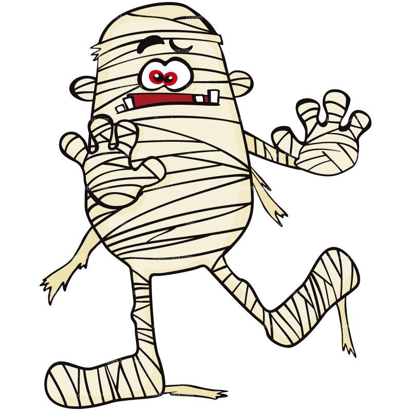 Cute mummy clipart kid - Mummy Clip Art