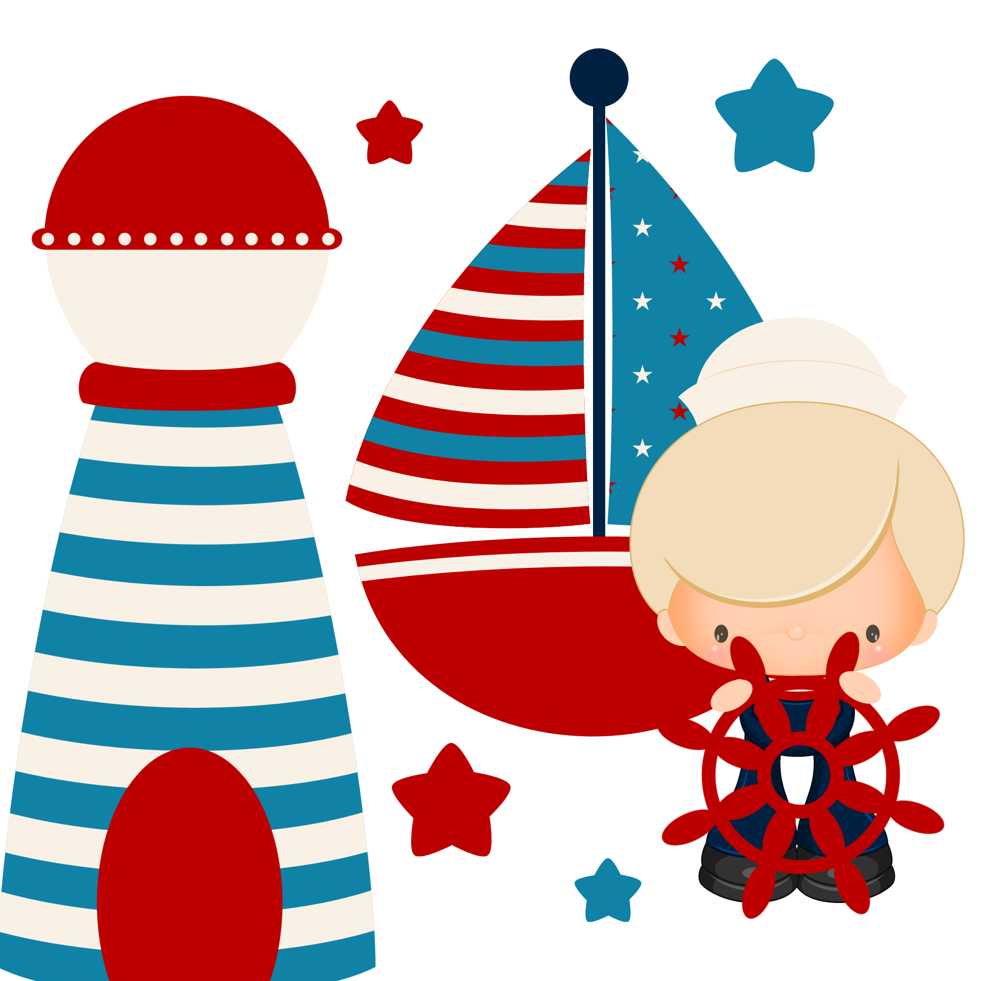 Cute Nautical Clipart