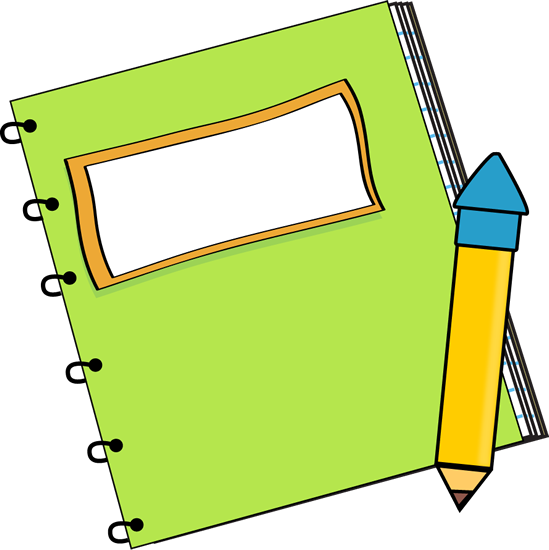 ... Cute Notepad Clipart ...