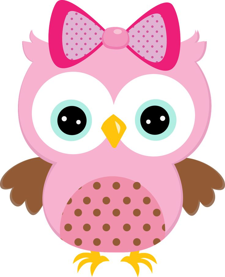 Cute Owl Clip Art Free - .